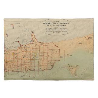 alexandria1866 cloth placemat