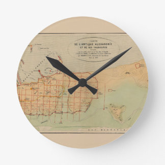 alexandria1866 round clock