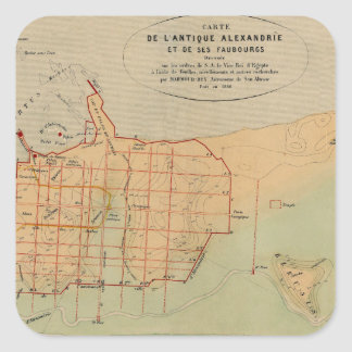 alexandria1866 square sticker