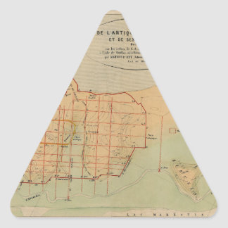 alexandria1866 triangle sticker