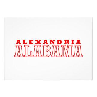Alexandria, Alabama City Design Announcements