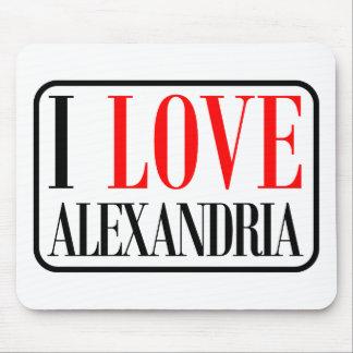 Alexandria, Alabama City Design Mouse Pad