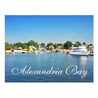 Alexandria Bay, New York, U.S.A. Postcard