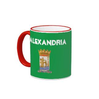 Alexandria Egypt Crest Mug