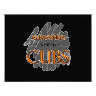 Alexandria High School CUBS Alexandria, AL Custom Announcement