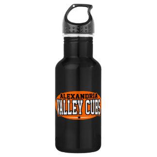 Alexandria High School; Valley Cubs Water Bottle