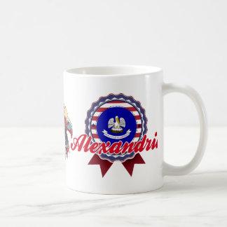 Alexandria, LA Classic White Coffee Mug