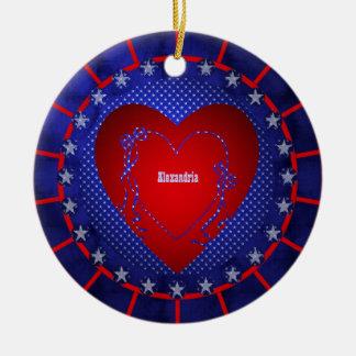 Alexandria Ornament