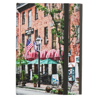 Alexandria Street With Cafe iPad Air Covers