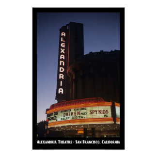 Alexandria Theatre 11x17 Poster