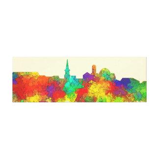 Alexandria Virginia Skyline-SG Canvas Print