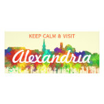 Alexandria Virginia Skyline-SG Rack Card