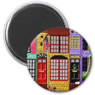 Alexandria, Virginia Townhouses Magnet