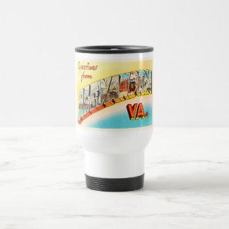 Alexandria Virginia VA Old Vintage Travel Postcard Travel Mug