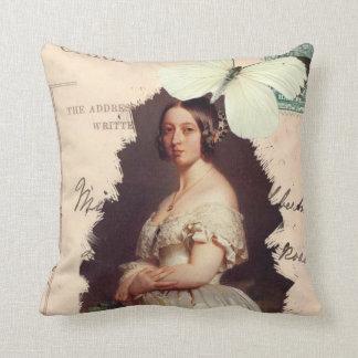 Alexandrina Victoria Throw Pillow