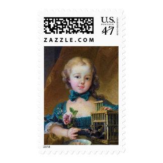 Alexandrine-Jeanne Le Normant d'Étiolles Boucher Postage