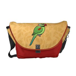 Alexandrine Parakeet Courier Bag
