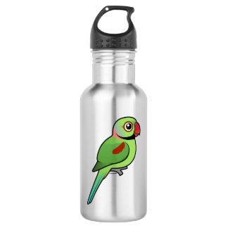 Alexandrine Parakeet Water Bottle