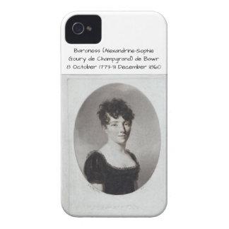 Alexandrine Sophie Goury de Champgrand de Bawr iPhone 4 Case-Mate Case