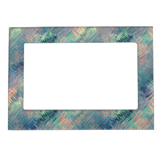 Alexandrite Blue Glassy Texture Magnetic Photo Frame