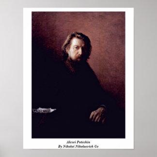 Alexei Potechin By Nikolai Nikolaevich Ge Print