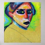 Alexej von Jawlensky Woman's Face Poster