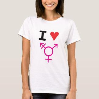 Alexia De Angelis-I Love Transgender T-Shirt