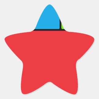 Alexiibo Logo Star Sticker