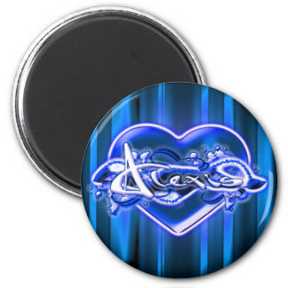 Alexis 2 Inch Round Magnet
