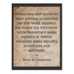 Alexis de Tocqueville Postales
