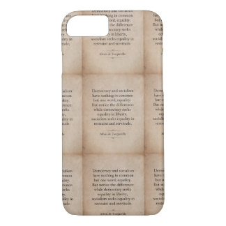 Alexis de Tocqueville Quote iPhone 8/7 Case