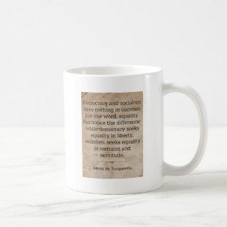 Alexis de Tocqueville Tazas De Café