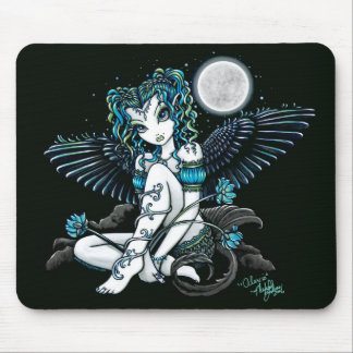 Alexis Moon Lilly Angel Mouse Pad