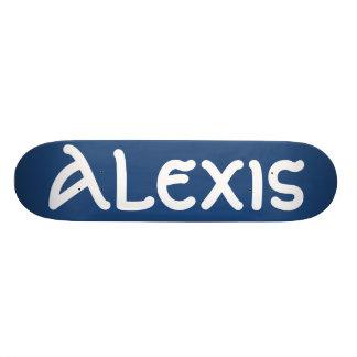 Alexis name skateboard