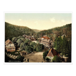 Alexisbad, Hartz, Alemania Photochrom raro Tarjetas Postales