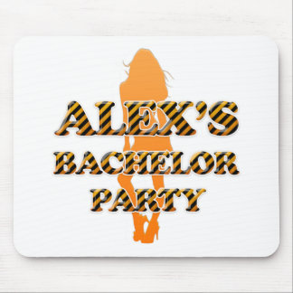 Alex's Bachelor Party Mouse Pad