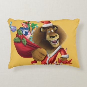 Alex's Holiday Presents Decorative Pillow by madagascar at Zazzle