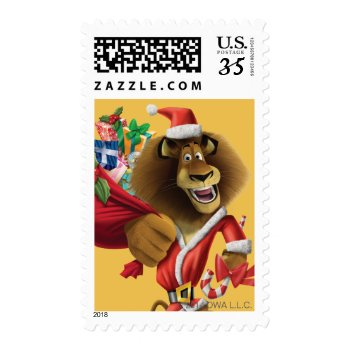Alex's Holiday Presents Postage by madagascar at Zazzle
