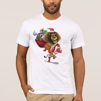 Alex's Holiday Presents T-shirt by madagascar at Zazzle