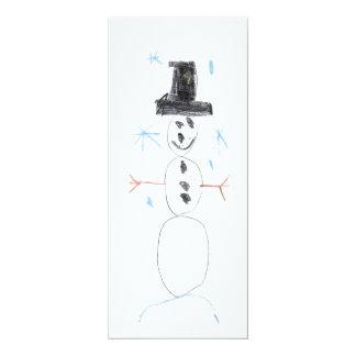 Alex's Snowman Card