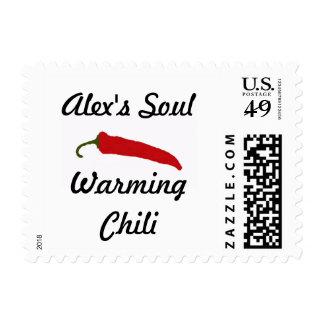 Alex's Soul Warminh Chili Stamps! Postage