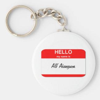 Alf Akanywon Basic Round Button Keychain