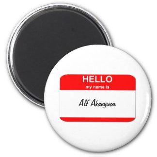 Alf Akanywon 2 Inch Round Magnet