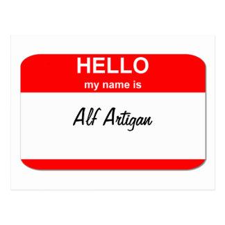 Alf Artigan Postales