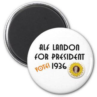Alf Landon for President Refrigerator Magnets