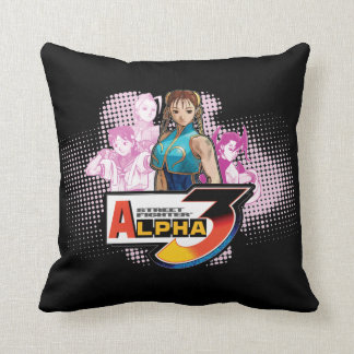 Alfa 3 Femme Fatale de Street Fighter Almohada