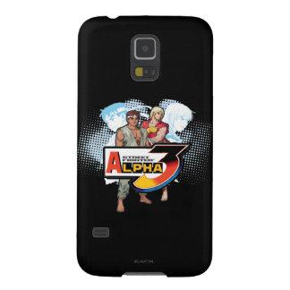 Alfa 3 Ken y Ryu 2 de Street Fighter Funda De Galaxy S5