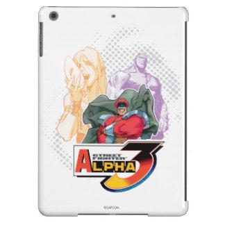 Alfa 3 Shadowloo 2 de Street Fighter Funda Para iPad Air