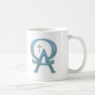 Alfa and omega mug