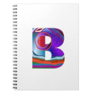 ALFA BBB del alfabeto Libreta